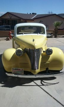low mileage 1939 Chevrolet Coupe custom for sale