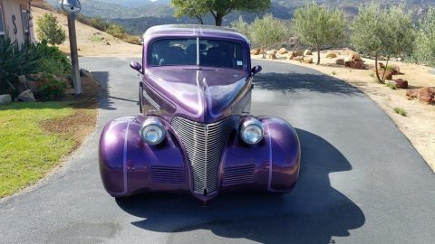 low miles 1939 Chevrolet Master Deluxe custom for sale