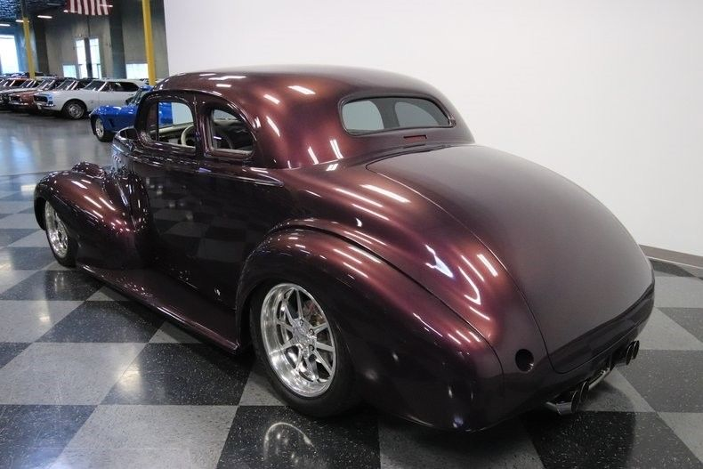 nicely modified 1939 Chevrolet Coupe custom