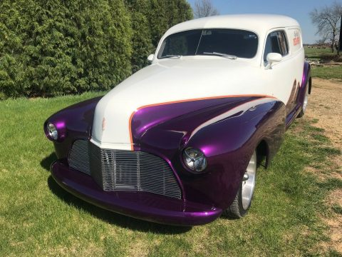 nicely modified 1947 Chevrolet Sedan Delivery custom for sale