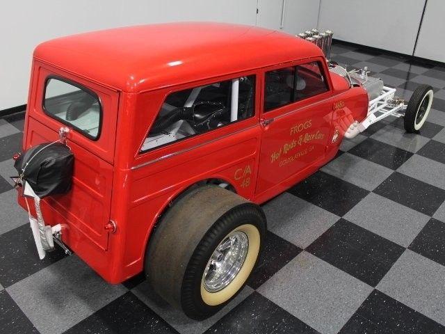 one of a kind 1948 Crosley custom