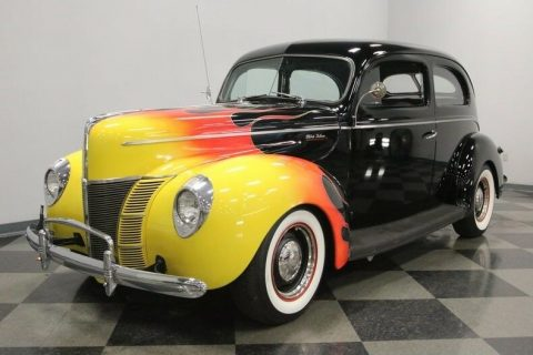pampered 1940 Ford Deluxe custom for sale