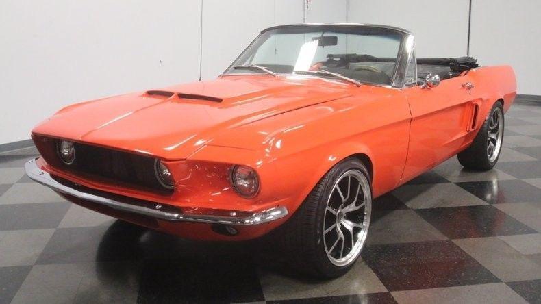 Restomod 1967 Ford Mustang Convertible custom