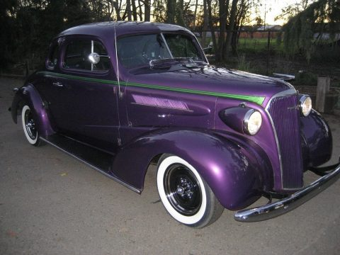 road ready 1937 Chevrolet Master Deluxe custom for sale