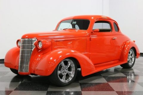 sharp looking 1938 Chevrolet Business Coupe custom for sale