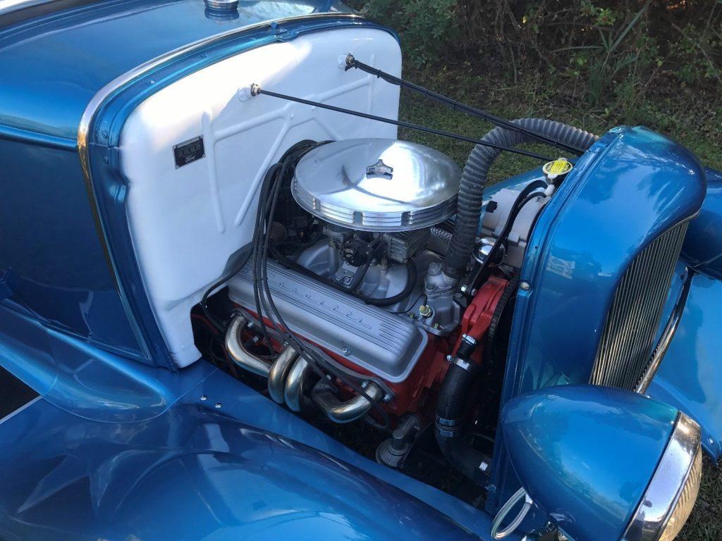 shiny 1930 Ford Model A custom