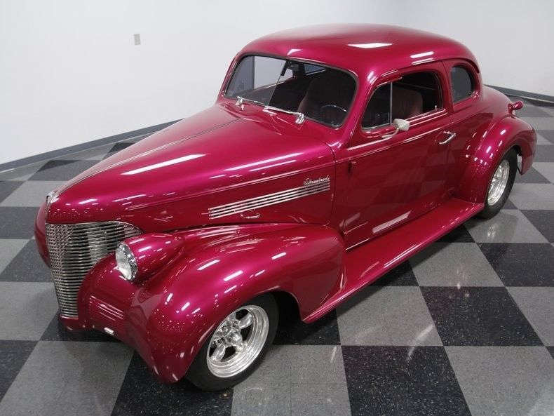well built 1939 Chevrolet Coupe custom