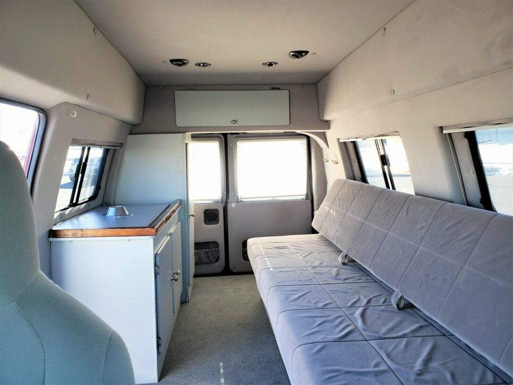 great shape 2010 Ford E Series Van Timberline 4×4 Conversion Custom