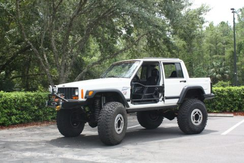 monster build 1997 Jeep Cherokee Sport 4×4 custom for sale