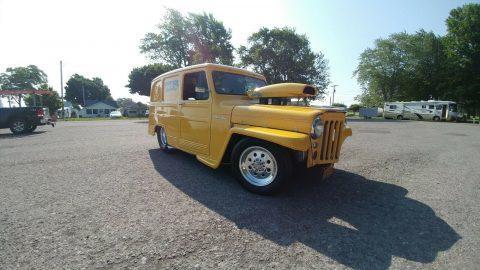 badass 1959 Willys Station Wagon custom for sale