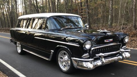 flawless 1955 Chevrolet Handyman Station Wagon custom for sale