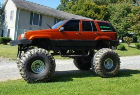 monster 1995 Jeep Grand Cherokee custom for sale