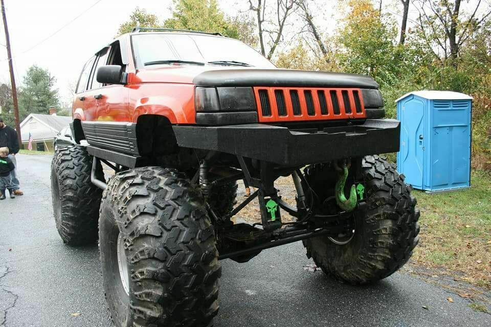 monster 1995 Jeep Grand Cherokee custom