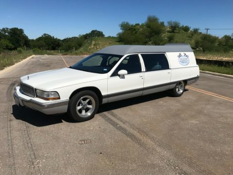 converted 1994 Buick Roadmaster hearse custom for sale