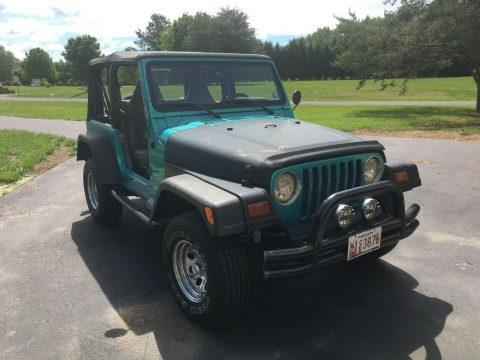 Custom V8 Conversion 1997 Jeep Wrangler (chevy 283) custom for sale