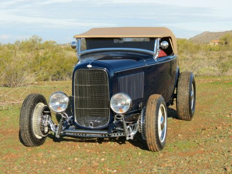 low mileage 1932 Ford Roadster convertible custom for sale