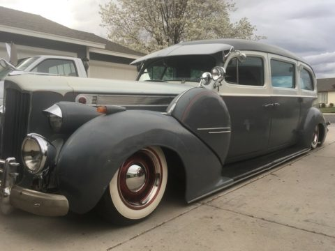 low rider 1940 Packard 200 hearse custom for sale