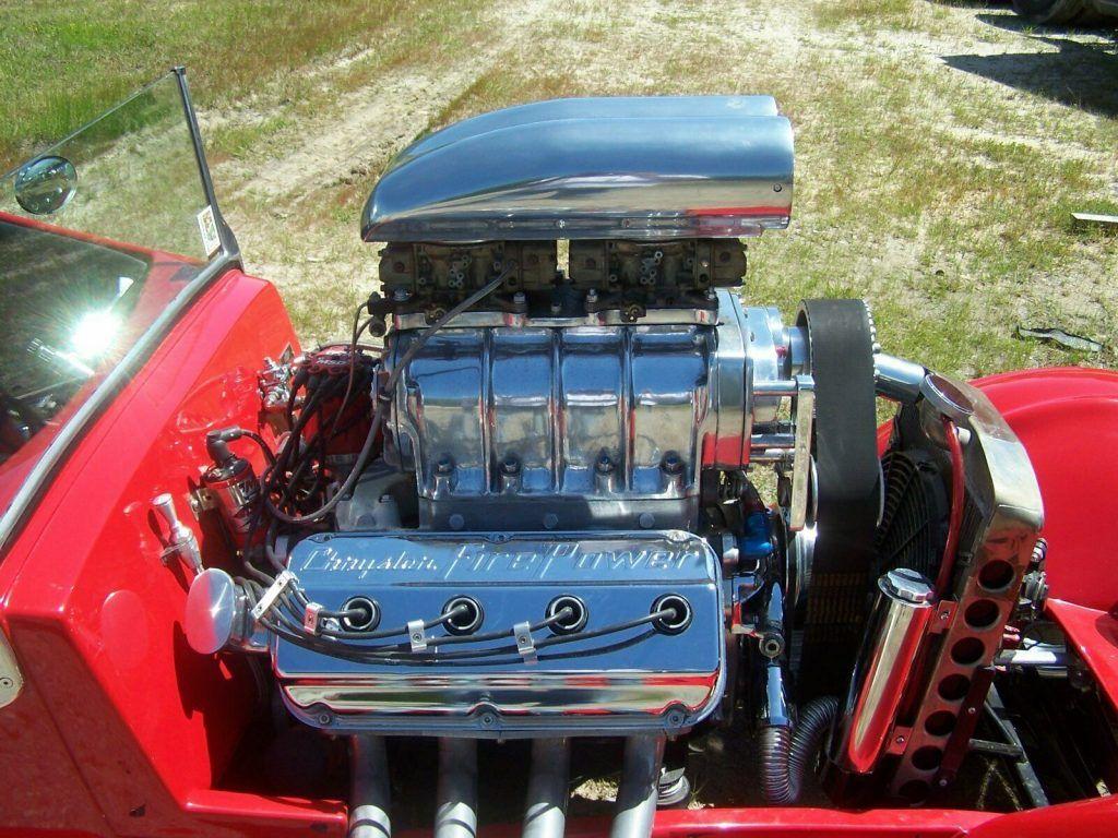mean beast 1926 Chevrolet blown Hemi custom