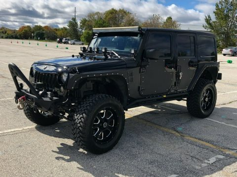 nicely modified 2012 Jeep Wrangler custom for sale