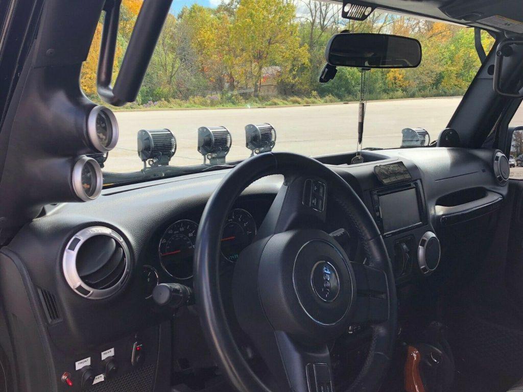 nicely modified 2012 Jeep Wrangler custom