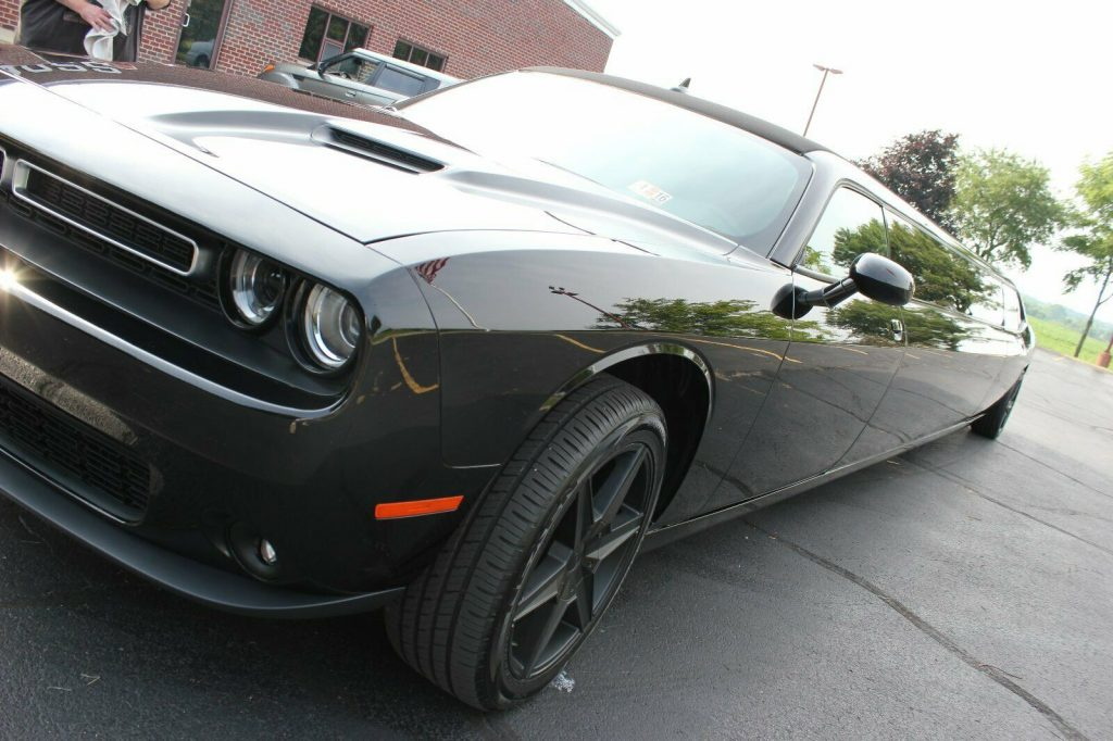 one of a kind 2015 Dodge Challenger SXT limousine custom