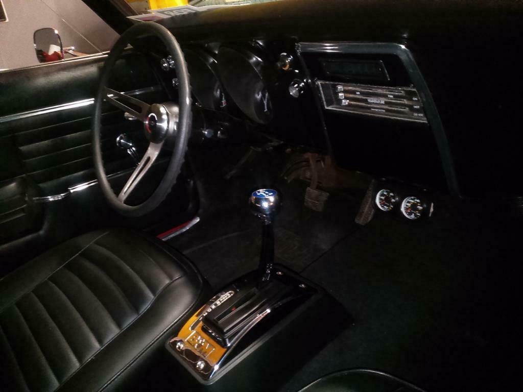 rebuilt 1967 Chevrolet Camaro SS custom