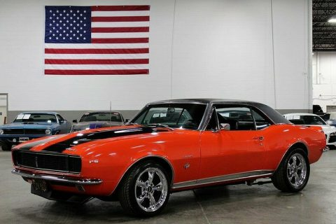 restored and modified 1967 Chevrolet Camaro custom for sale