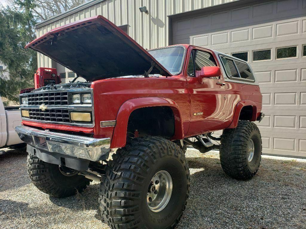 rust free 1991 Chevrolet Blazer K5 custom