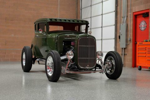 strong and fast 1930 Ford Model A 5 Window Coupe custom for sale