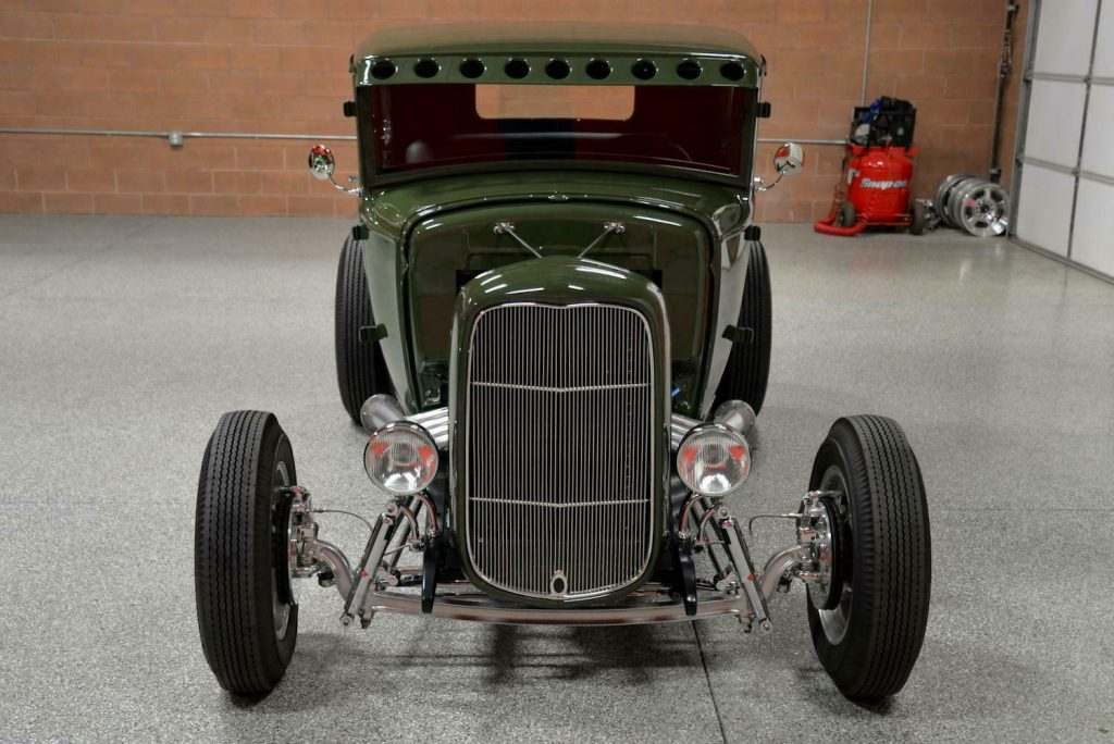 strong and fast 1930 Ford Model A 5 Window Coupe custom
