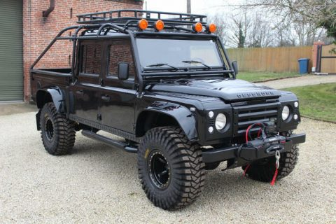 wonderful 1994 Land Rover Defender 130 Spectre 007 custom for sale