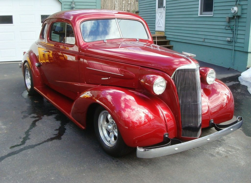 all steel 1937 Chevrolet Master Business Coupe custom