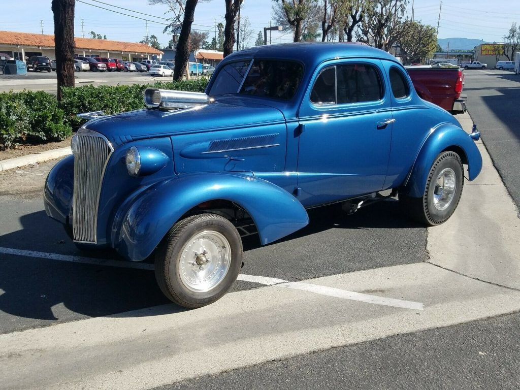 blown 1937 Chevrolet Coupe custom