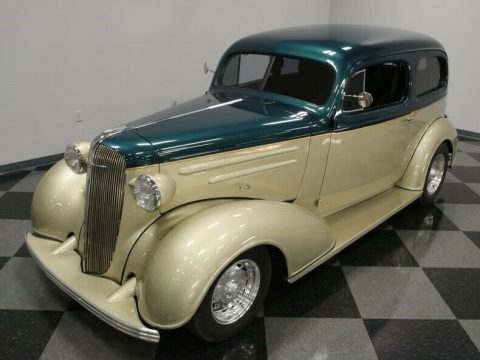 bored small block 1936 Chevrolet Streetrod custom for sale