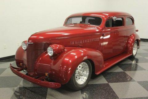 chopped 1939 Chevrolet 85 Streetrod custom for sale