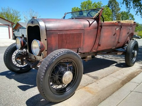 classic 1929 Ford Model A Phaeton custom for sale