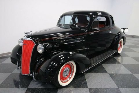 crate small block 1937 Chevrolet Deluxe custom for sale