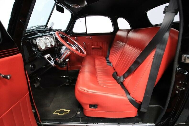 crate small block 1937 Chevrolet Deluxe custom