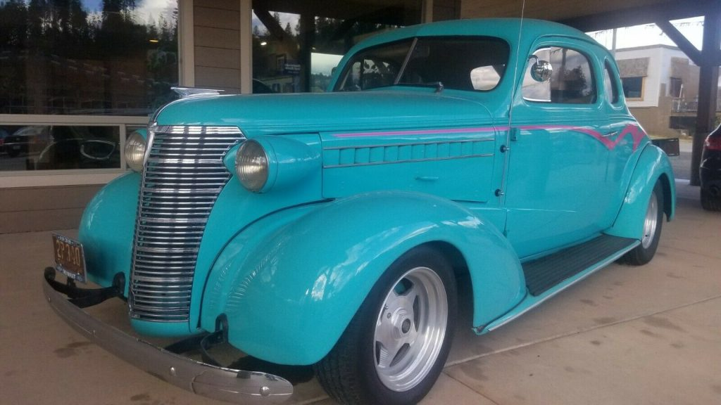 head turner 1938 Chevrolet Coupe custom