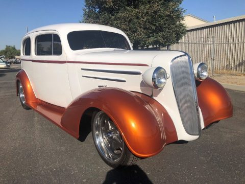lots of mods 1936 Chevrolet Master Sedan custom for sale