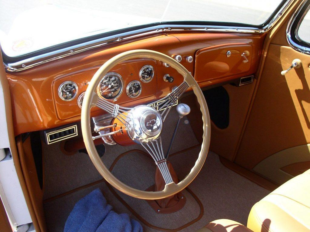 lots of mods 1936 Chevrolet Master Sedan custom