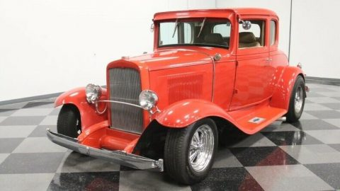low miles 1931 Chevrolet Coupe custom for sale