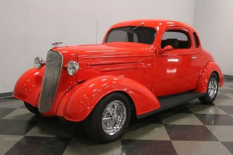 low miles 1936 Chevrolet Coupe custom for sale