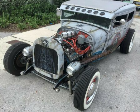 nice airbrush 1929 Ford Model A custom for sale