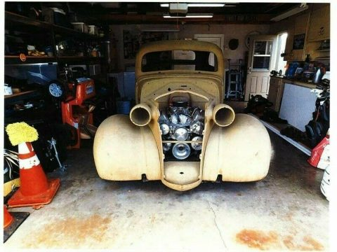 project 1938 Chevrolet Chevy 2 door Sedan custom for sale