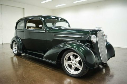 restomodded 1936 Chevrolet Master Deluxe custom for sale
