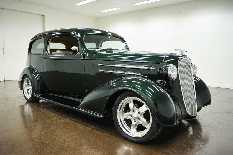 restomodded 1936 Chevrolet Master Deluxe custom