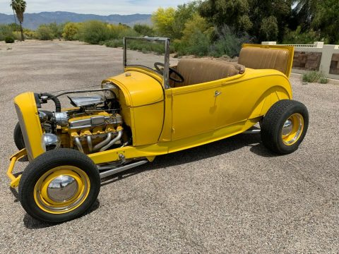 traditional 1929 Ford Model A Roadster custom for sale