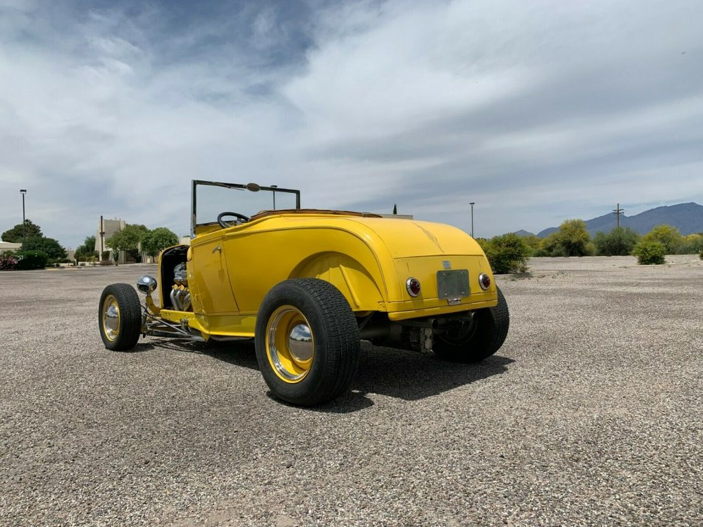 traditional 1929 Ford Model A Roadster custom