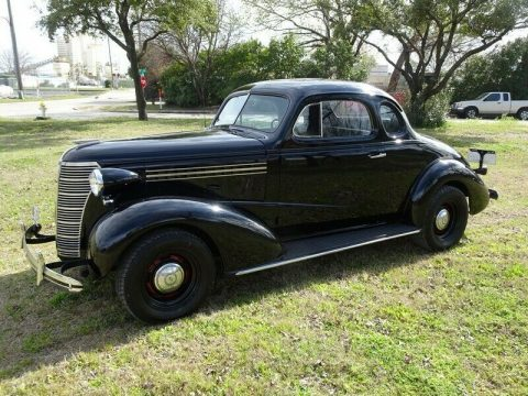 true moonshine runner 1938 Chevy Business Coupe custom for sale